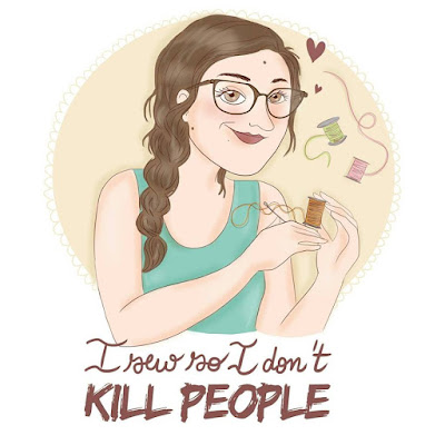 I sew so I don't kill people ~ REVIEW