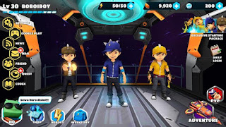 BoBoiBoy Galactic Heroes RPG Apk Mega Mod