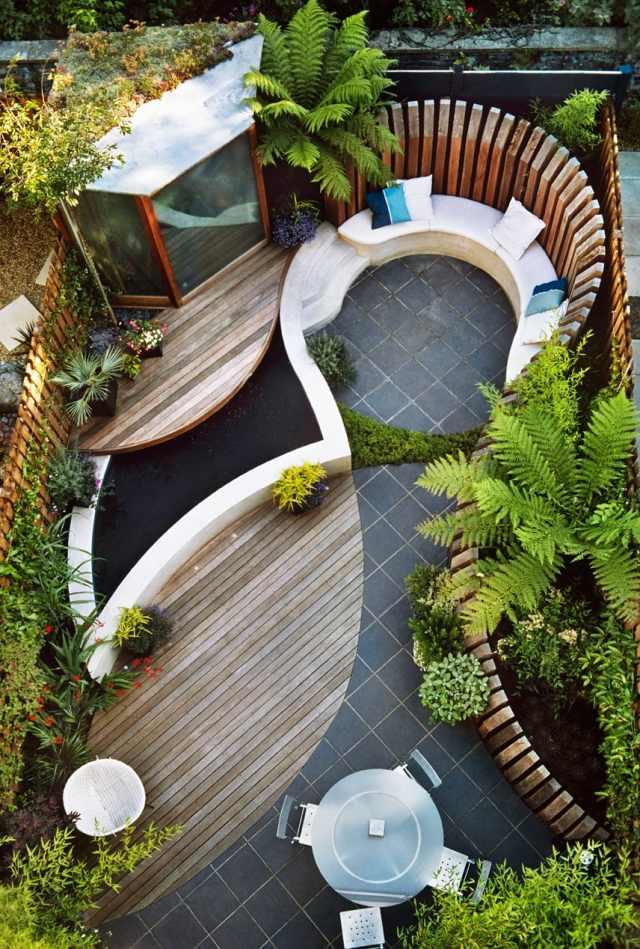 Modern Landscaping: 100 Garden Design Ideas | homeideasisme.com