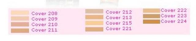 paleta odcieni jaki odcień Dermacol wybrać