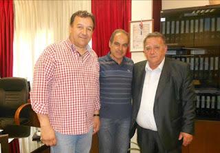 Ο πρόεδρος της Ελληνικής Κωπηλατικής Ομοσπονδίας στον δήμαρχο Καστοριάς (φωτο)