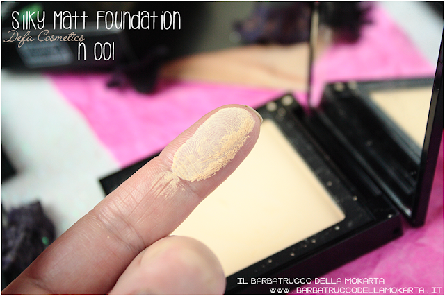 001 Silky Matt Foundations Defa Cosmetics Fondotinta vegan swatches