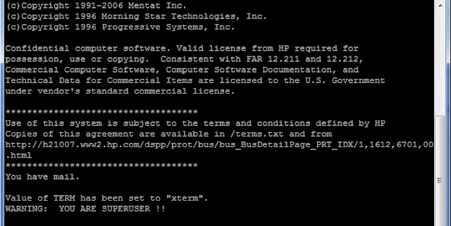 Step by Step NFS Server and Client Configuration in HP-UX