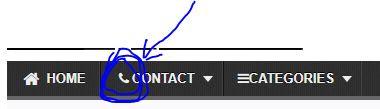 icon keren untuk menu navigasi blog