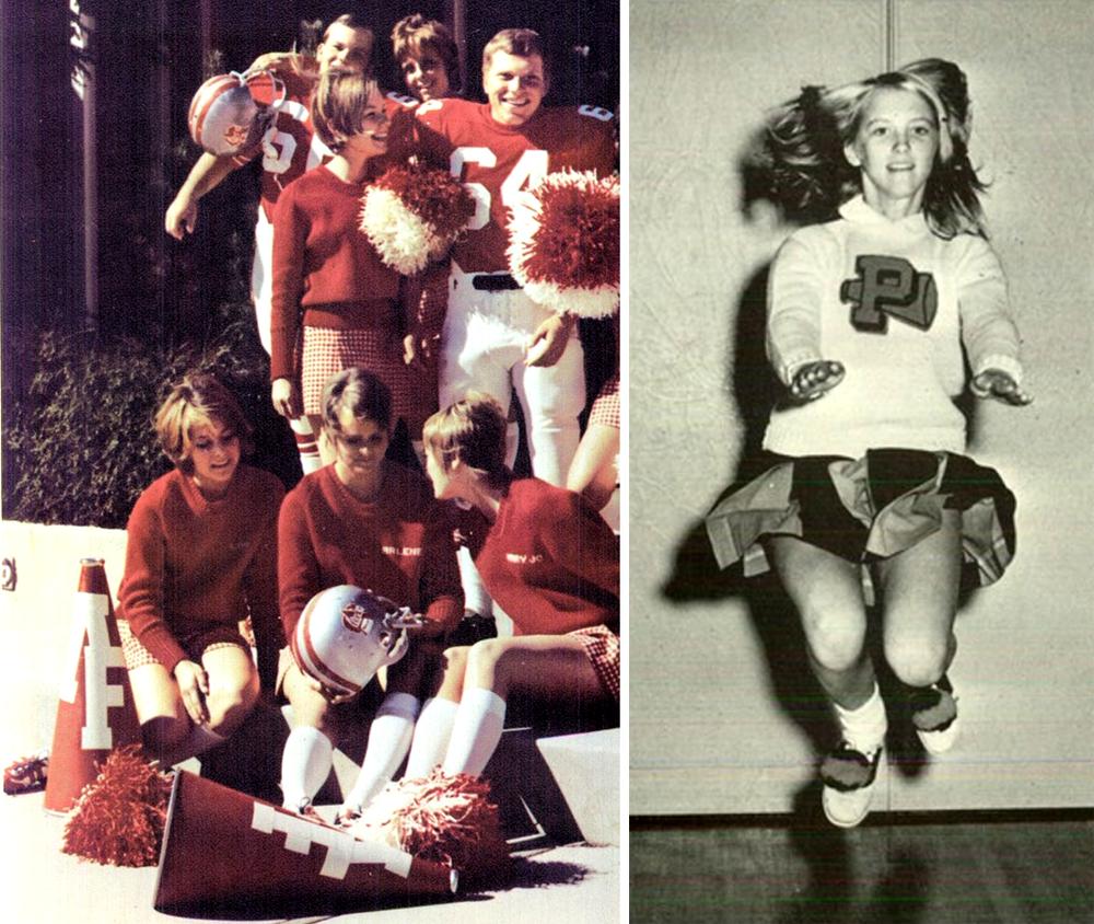 Retrospace: Mini Skirt Monday #217: Cheerleaders (Part 4