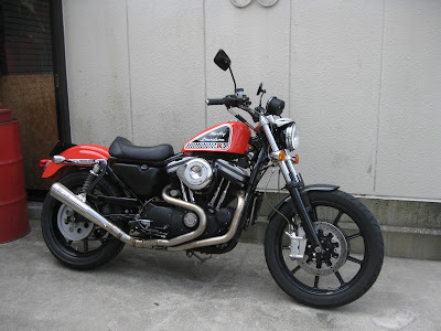 sportster 883R  XTENSION MC