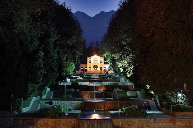 Jardín de Shahzadeh en Kerman