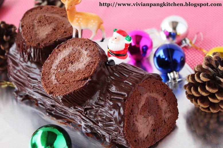 Decorate Cake W Chocolate Slices