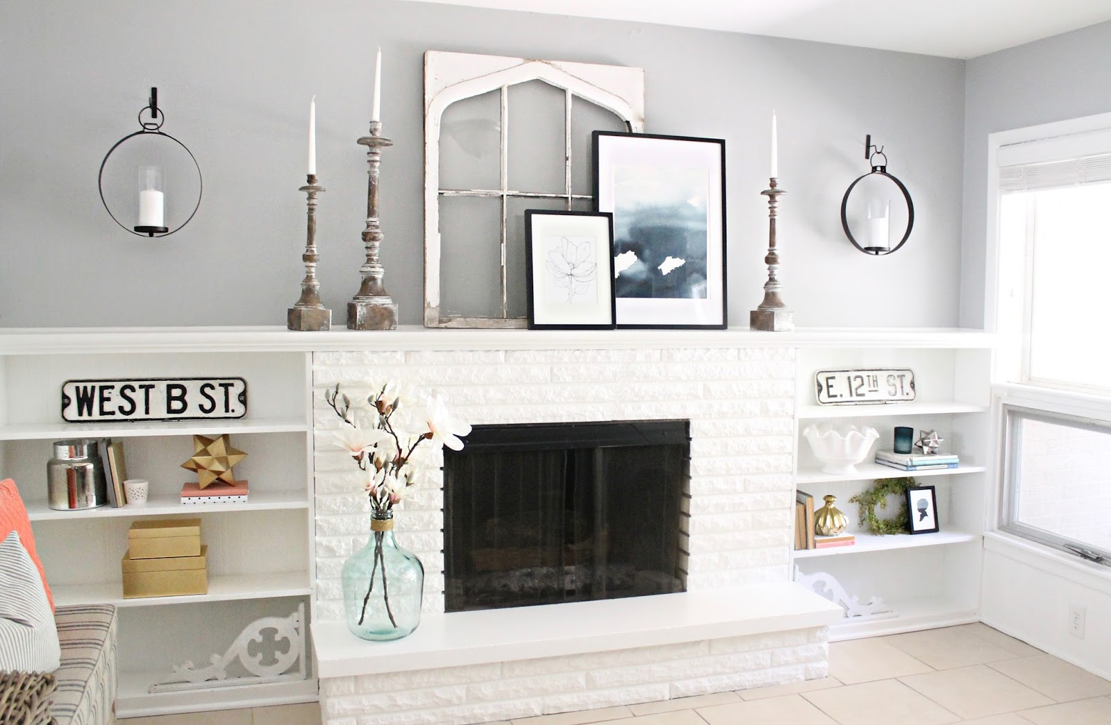 Joanna Gaines Farmhouse Mantel Joanna Gaines Fireplace Mantels Euffslemani