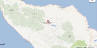 Peta Wilayah Aceh