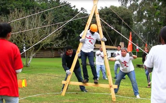 Team Building Game A Frame