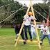 Team Building Game A Frame - Outbound Training