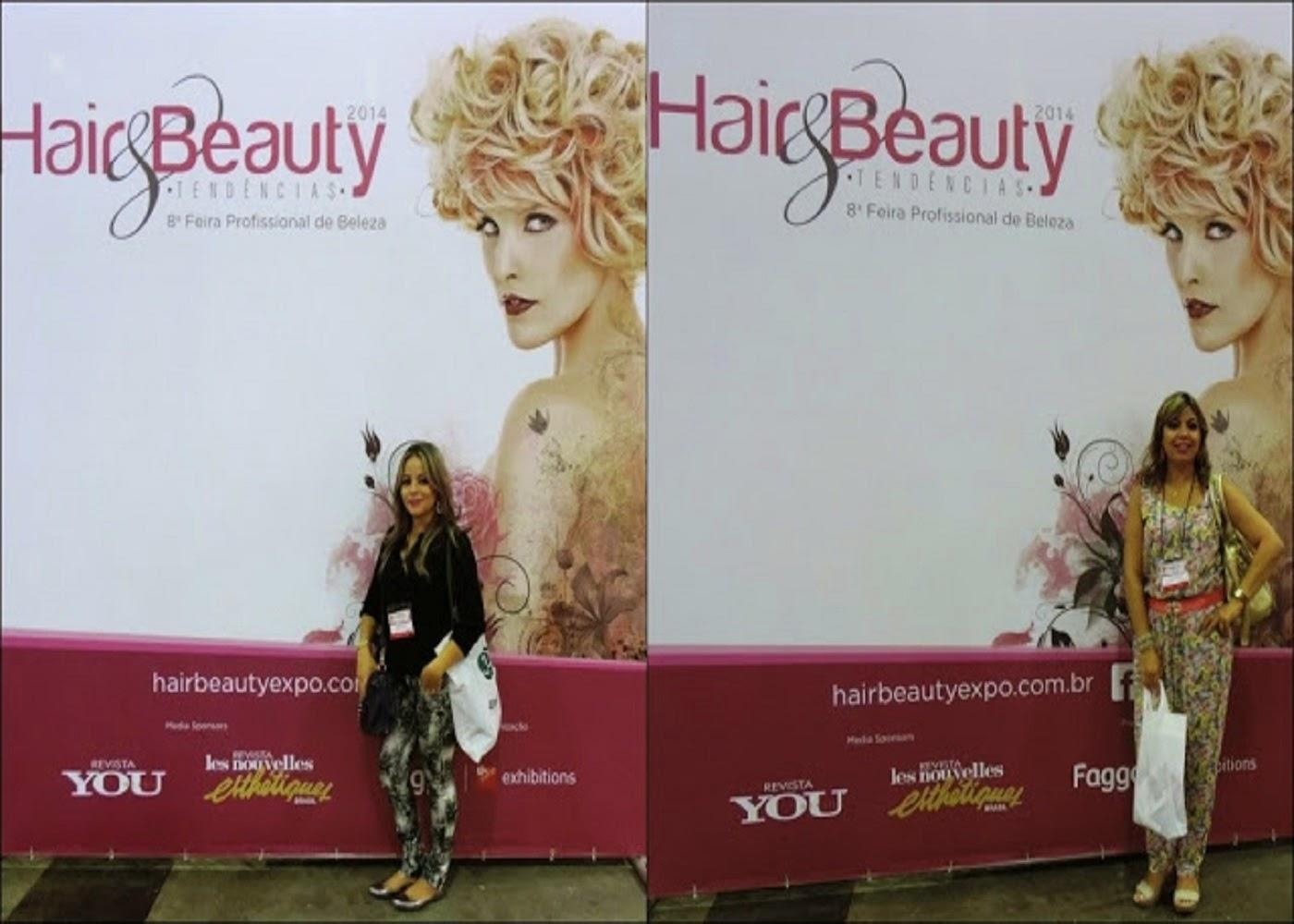 Encontrinhos de Blogueiras na Hair & Beauty 2014