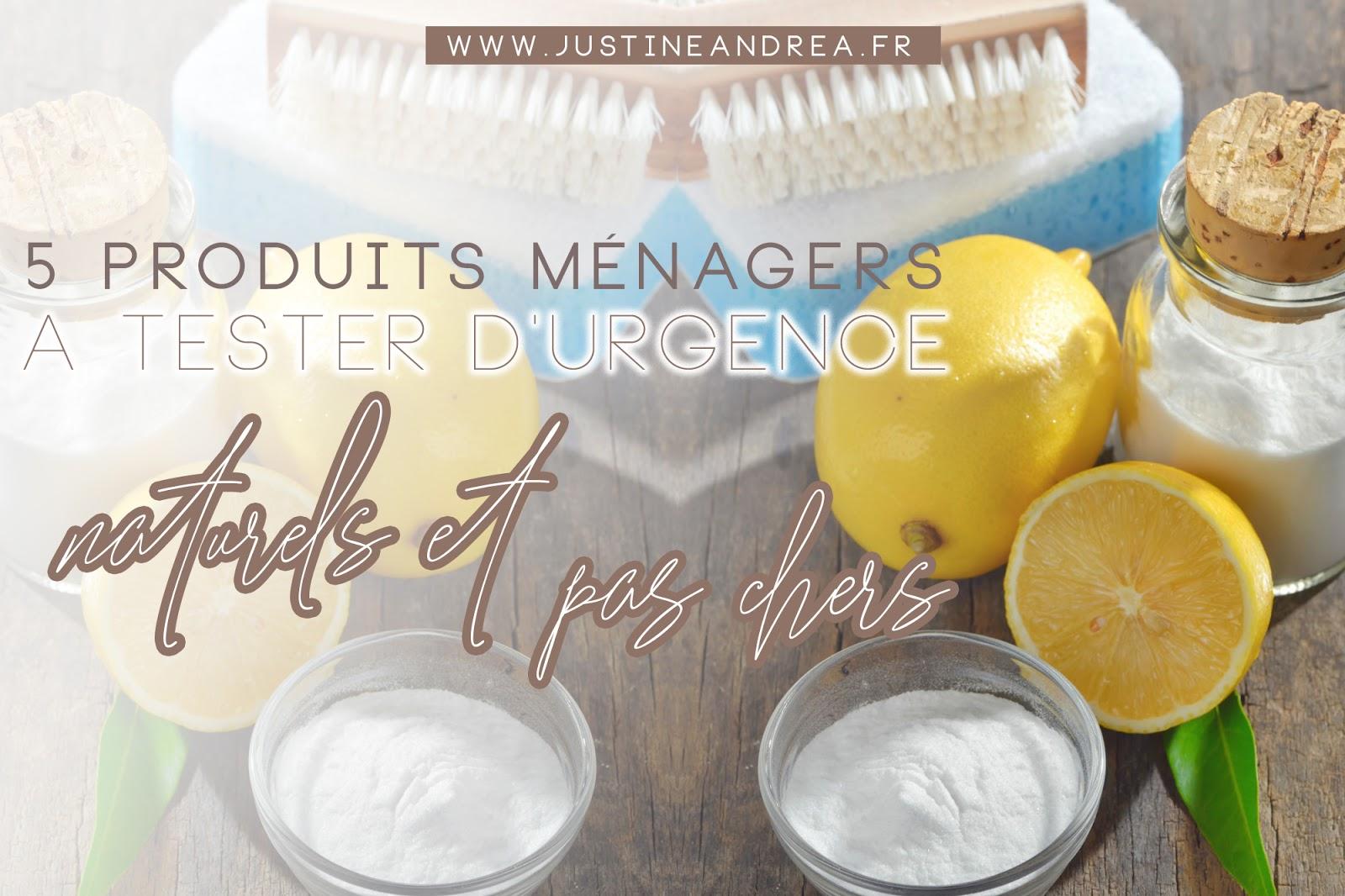 vinaigre blanc bicarbonate recette ménage