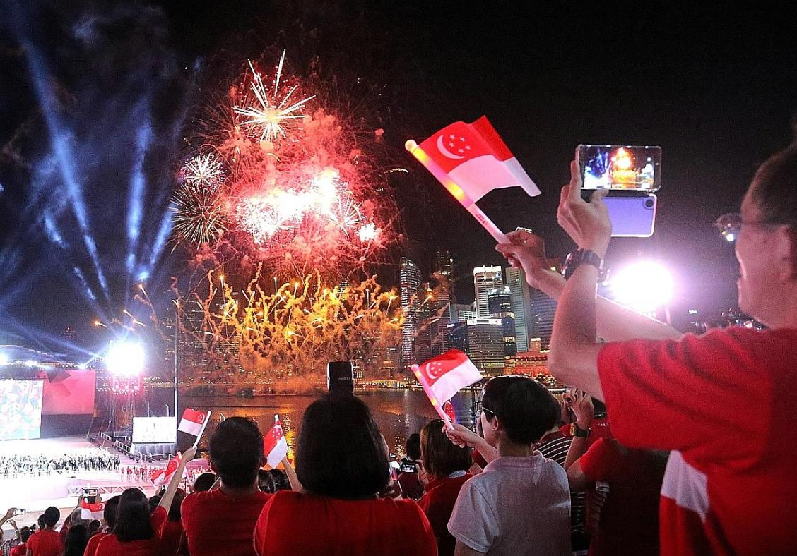 Highlights of the 52nd National Day Parade