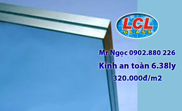 Kính ghép an toàn 6.38ly LCL Glass