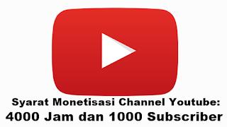 Banyak Akun Youtube yang akan Tumbang