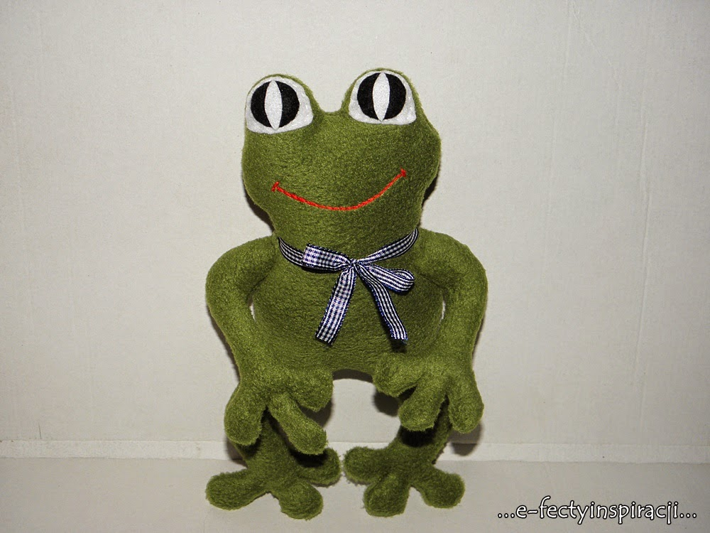 żaba przytulanka