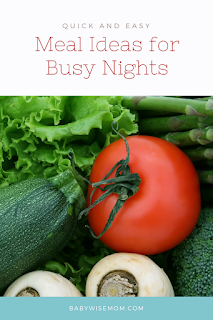 Quick and Easy Meals for Busy Nights