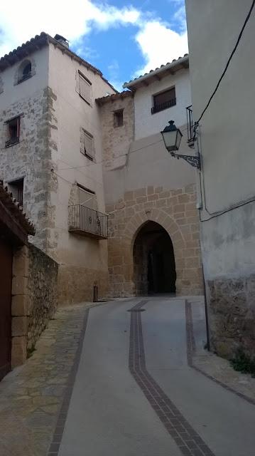 Portal de San Gregorio,San Gregori, Beceite, Beseit