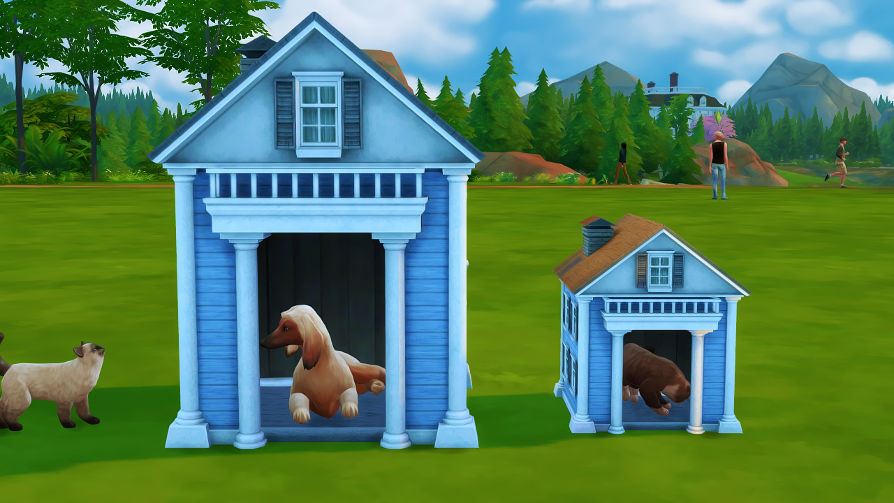 Sims  Cats And Dogs Broken Cc