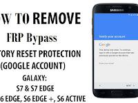 Cara Remove FRP Samsung Galaxy S7 / S7 Edge SM-G930P/ SM-G935P