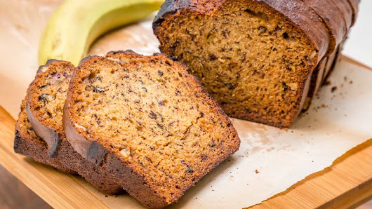 Healthy Banana Bread Recipe with Sour Cream ~ Health and Care - Beauty - Software - Making of Food Tricks by Tips Buddies