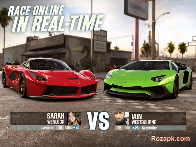 CSR Racing 2 Apk Download Mod+Hack+Data