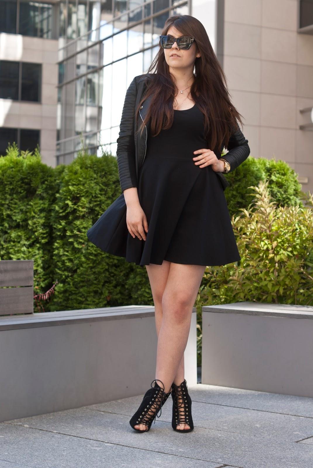 Czarna Mała Sukienka