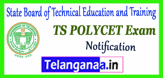 TS POLYCET Telangana State Polytechnic Common Entrance Test 2019 Notification Application Time Table