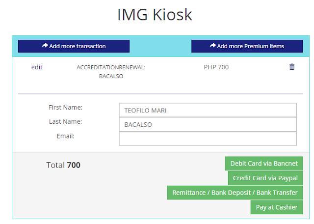 IMG kiosk 2 payment options