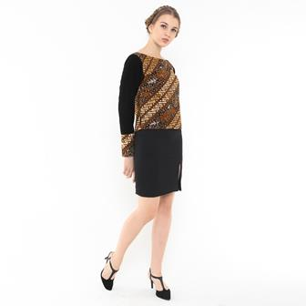 Contoh Model Blus Batik Terkini
