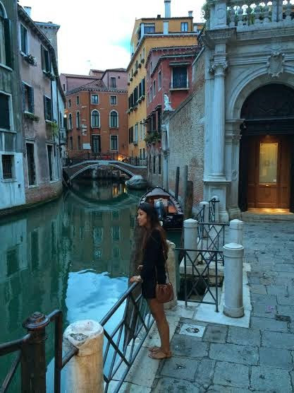 First Stop: Venice