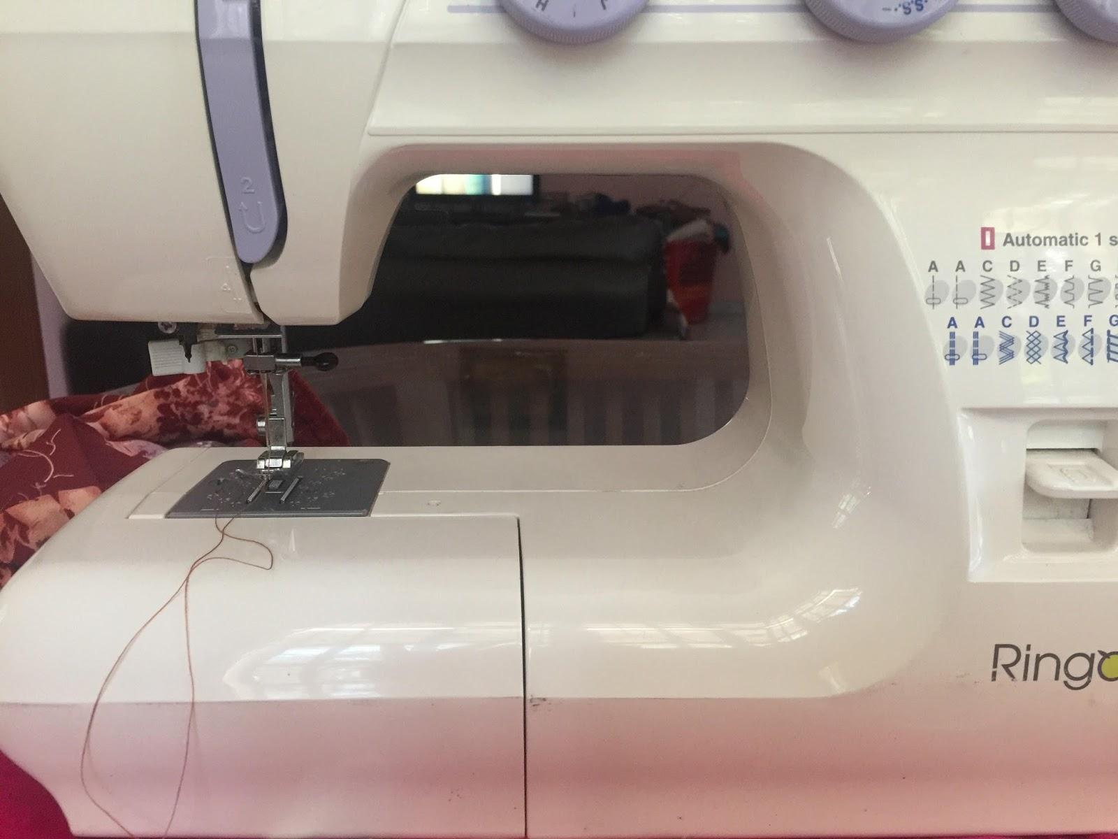jahitan, jahit baju sendiri, mesin jahit mudah guna, baju kurung