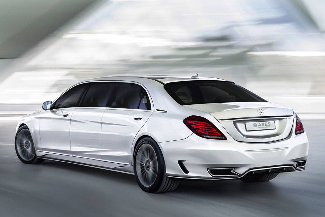 Mercedes Benz V222 S Class Pullman By Ares Design BENZTUNING