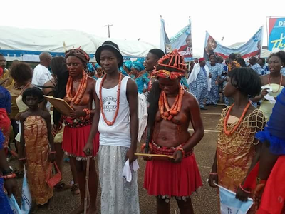 , Delta State celebrates 25 years in a Cultural Display styles (Photos), Latest Nigeria News, Daily Devotionals & Celebrity Gossips - Chidispalace
