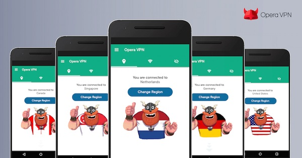 Opera launches Free VPN app for Android