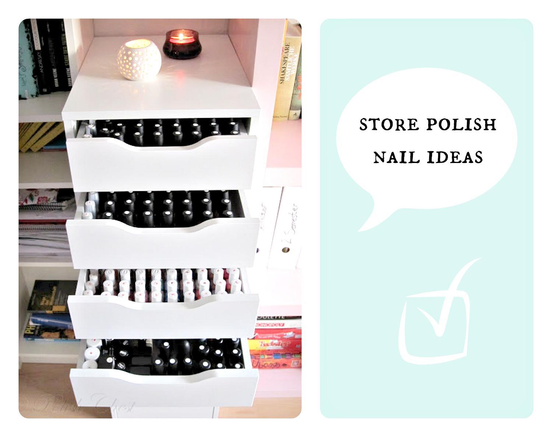 polish nail storage