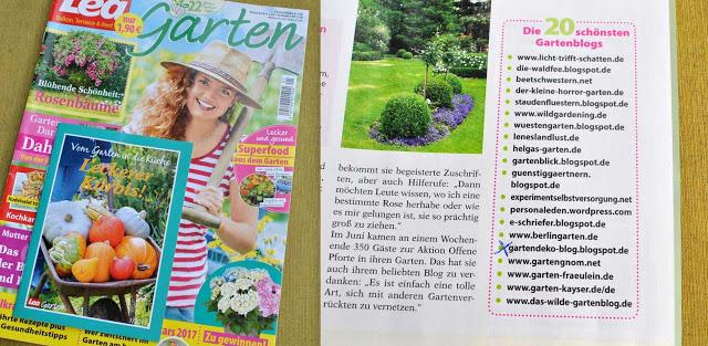 Lea-Garten Presseveröffentlichung