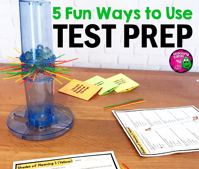 Are you looking for some fun, low prep ideas for test prep in your classroom? Learn about 5 engaging test review game ideas for your classroom. These test review games would work in any classroom - upper elementary, middle school, or high school. They are also adaptable to different subject areas.