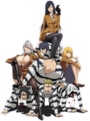 Prison School - Rekomendasi list anime harem ecchi hard and school