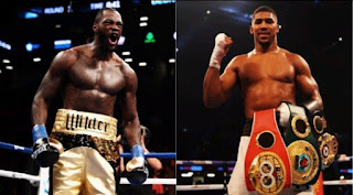 We won't fight unless you agree on 50-50 offer, Deontay Wilder to Anthony Joshua