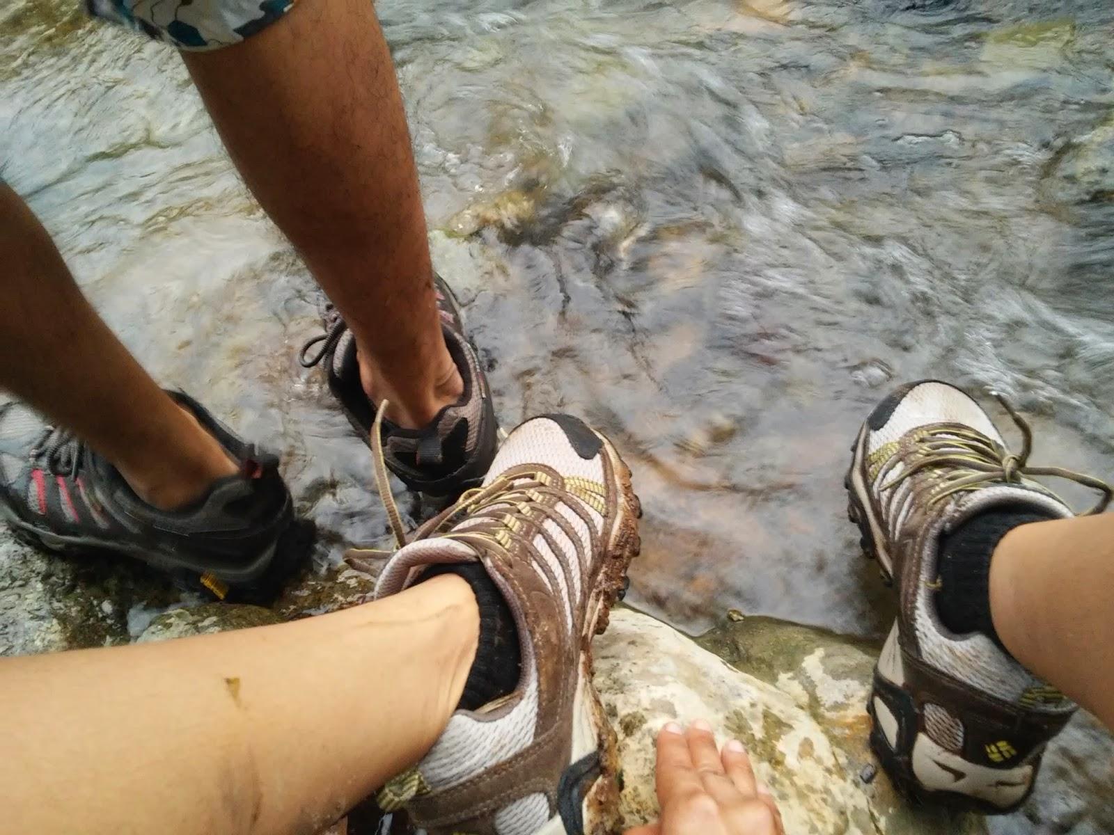 River Trekking at Maitum, Sarangani