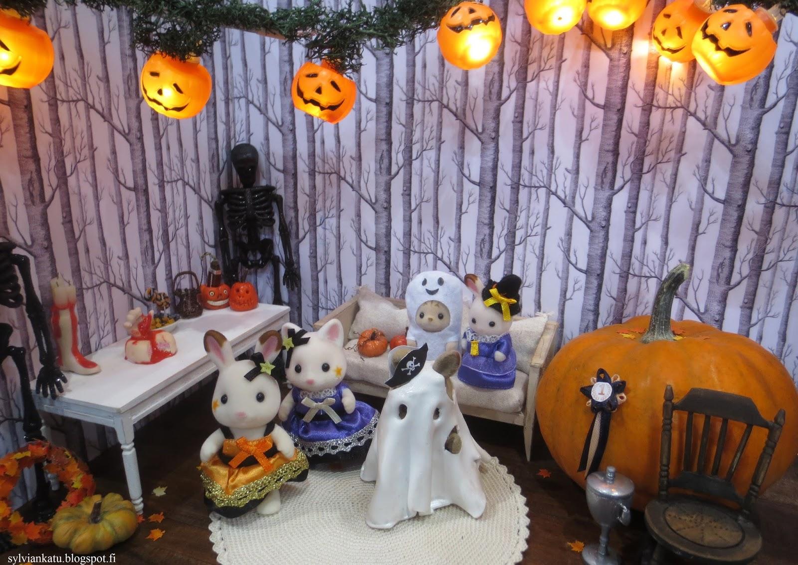 Halloween hurjimmat reseptit ja koristeet Meillä kotona