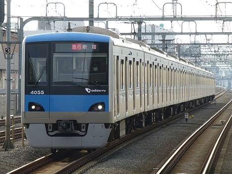 小田急電鉄 急行 新宿行き1 1000形(2018年までのEXPRESS表示)