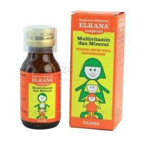 Elkana Vitamin Terbaik Anak
