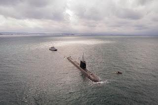 Kapal Selam Serang Nuklir Suffren Prancis