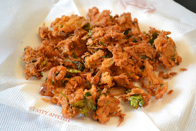 how to make onion pakoda in airfryer