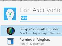 Install SimpleScreenRecorder Sebagai Perekam Layar Pengganti Camtasia di Linux Fedora 27