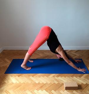 Postura de Yoga Iyengar